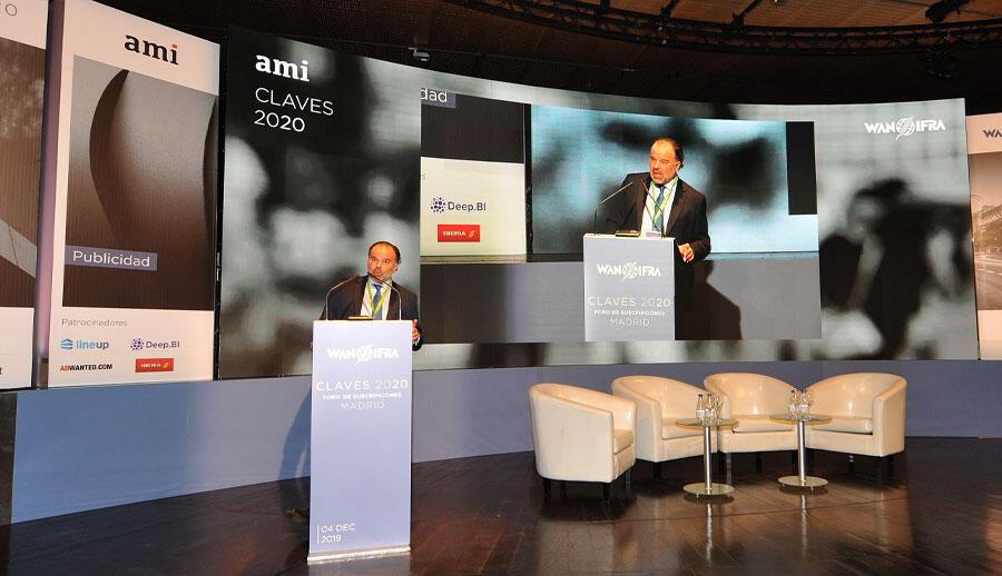 Fernando de Yarza, Presidente asociación mundial de Editores y periódicos(WAN-IFRA)